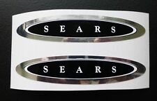 Sears JC Higgins Flightliner bicycle tank decal sticker pair