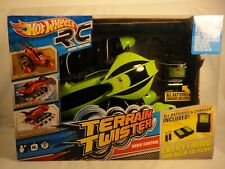 New- Hot Wheels R/C TERRAIN TWISTER 49MHZ GREEN- Radio Control -Land-Water-Snow