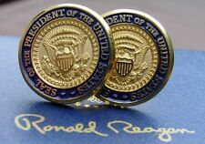 Ronald Reagan Presidential Die Cast Cufflinks/Presidential Cufflinks/White House