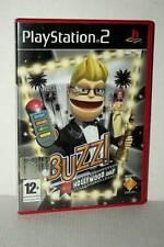 BUZZ! HOLLYWOOD QUIZ GIOCO USATO OTTIMO STATO PS2 VERSIONE ITALIANA VBC 48055