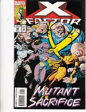 X-FACTOR  #94 1993 -MUTANT SACRIFICE ''LONGEST DAY P1'' -LOBDELL/MILGROM...NM-