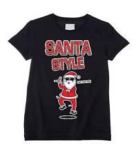 Santa Niños Estilo T-Shirt-Papá Noel Claus Gangnam Psy Regalo Presente
