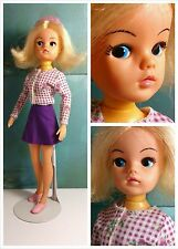 Vintage 1980's Pedigree Sindy 2nd Gen Doll, Ideal Tammy Clone, Made in Hong Kong