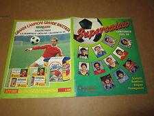 ALBUM DI FIGURINE PANINI SUPERCALCIO 1985-86 COMPLETO MENO 1 FIGURINA SU POSTER