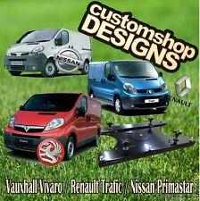 Vivaro, Primastar, Trafic Camper Van Double Seat Swivel Base (RHD UK Model)