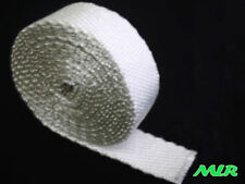 5M ROLL OF WHITE EXHAUST WRAP MANIFOLD WRAP HEAT SHIELD MLR.BKA