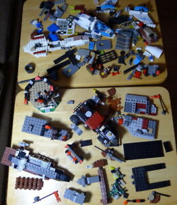 HUGE Mixed Lot Lego bricks and building pieces house castle parts replacement