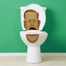 Sean Spicer Toilet Lid Decal / Sticker set by Bowl Faced Liar