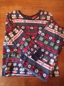 Boys Star Wars Christmas Pajamas  Aged 8yrs