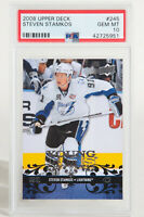 2008 Upper Deck Young Guns Steven Stamkos Lightning Rookie RC #245 PSA 10 GEM MT