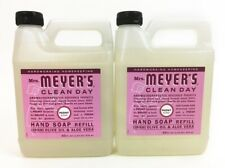 Mrs. Meyers Clean Day Liquid Hand Soap Refill, PEONY Scent 33 fl oz, 2 Pack