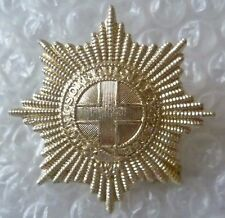 Staybrite Coldstream Guards Regiment Cap Badge Anodised maker JR GAUNT (A/A*)