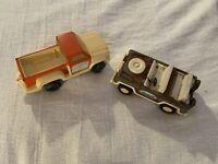 2 Vintage Toy Vehicles, Metal With Plastic, Tonka AND Tootsietoy