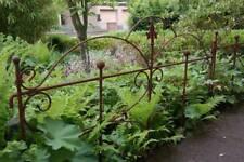 Beetzaun Gartenzaun Rankhilfe Schmetterling Eisen Rost Deko H:55 cm x L:80cm