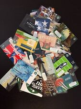 110+ STARBUCKS GIFT CARDS LOT , UK, City ,CO BRANDED, Seahawks, And More