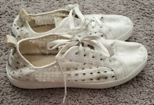 Koolaburra by Uggs Womens Size 9.5 Tennis Shoes White Lace Sneakers