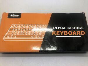 RK ROYAL KLUDGE RK61 Wireless Mechanical Gaming Keyboard Preowned