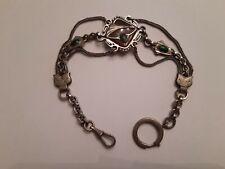 Chaine de montre gousset,bijoux,art populaire