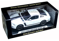 Shelby Collectibles 2013 Ford Mustang Boss 302 1:18 Diecast White SC452