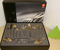 ZWILLING J. A. HENCKELS CUTLERY 68 PIECES ABERDEEN NEW POLISHED SPECIAL OFFER