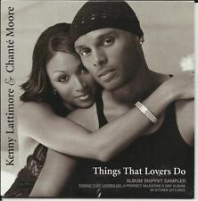 CHANTE MOORE & KENNY LATTIMORE Sampler PROMO CD 2002