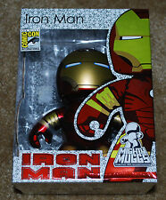 SDCC 2008 EXCLUSIVE IRON MAN MIGHTY MUGGS CHROME BRAND NEW