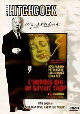 HITCHCOCK - L'HOMME QUI EN SAVAIT TROP /*/ DVD POLICIER NEUF/CELLO