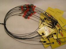 "HH Lure Ready Rig 45# 20"" Black 1/4 oz 12 Per Pack"