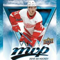 2019-20 Upper Deck MVP Blue Hockey Factory Set Parallels Pick From List 1-200