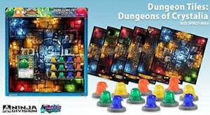 Soda Pop Minis Boardgame Dungeons of Crystalia Expansion New