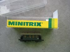 Minitrix Spur N 51 3001 Gepäckwagen mit Postabteil, in OVP!, unbespielt