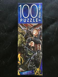 "2018 Disney Marvel Avengers Infinity Wars 100 Piece Puzzle 10.3"" x 9.1"" NIB!"