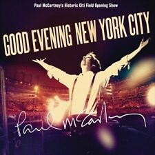 Good Evening New York City by Paul McCartney (2 CD + DVD) Citi Field Opening