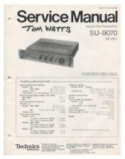 Technics SU-9070 Original Preamp Service Manual