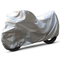 """Motorcycle UV protector Outdoor Motor Bike Scooter Dust Vented Cover up to 80"""""""