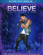 Justin Bieber's Believe (Two-Disc (Blu-ray + DVD + Digital HD with UltraViolet))