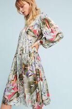 Anthropologie Geisha Designs Paradiso Swing Dress  Size XS Petite