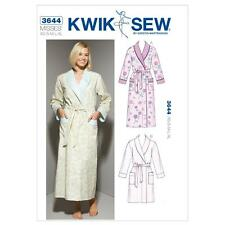 KWIK SEW SEWING PATTERN MISSES' BATH ROBES SIZE XS - XL K3644