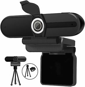 4K Webcam, Webcam 8MP HD Computer Camera with Microphone, Pro Streaming Web Cam