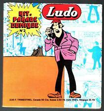 HIT PARADE COMIQUE POCHE n°2 # 50 ENIGMES DE LUDO # 1976 VAILLANT