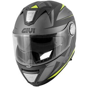 Helm GIVI X.23 Sydney Pointed Matte Black / Titan / Gelb