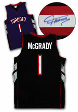 Tracy McGrady Toronto Raptors Autographed Purple Black Custom Basketball Jersey