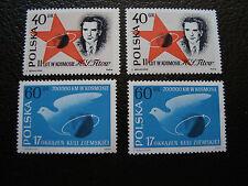 POLOGNE - timbre yvert et tellier n° 1120 1121 x2 n** (A27) stamp poland