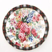 Ralph Lauren Wedgewood Hampton Floral Dinner Plate