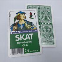 10 Skatspiele Club Deutsches Bild, Kornblume Skat Karten Spielkarten von Frobis