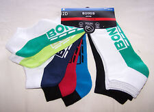 Bonds Active Logo Mens Multi Coloured Low Cut Socks 5 Pack Size 6 - 10 New