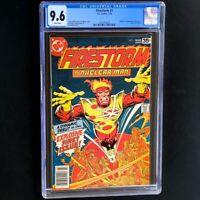 Firestorm #1 (DC 1978) 💥 CGC 9.6 White Pages 💥 1st App of Firestorm! Comic