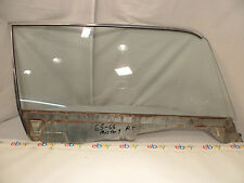 67-68 Ford Mustang Passenger Side Glass Coupe Right Door Clear 8B A1 FM-M30