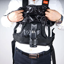 Commlite CS-S20-H1 Carrying Vest Holster Rain-Proof for DSLR Canon Nikon Camera