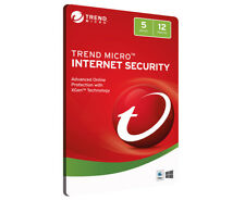 Trend Micro Internet Security 2018 5-Device 1-Year Software Download